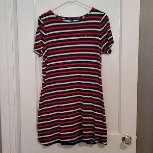 Tommy Hilfinger Size Xlarge Red White &Blue Tshirt